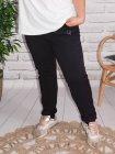 Berlin, pantalon sportswear, Lagenlook noir zoom