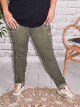 Berlin, pantalon sportswear, Lagenlook kaki zoom 44