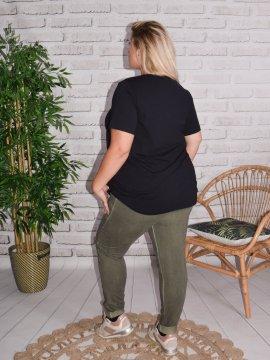 Berlin, pantalon sportswear, Lagenlook kaki 54