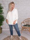 Alex, chemise fluide, Lagenlook blanc 65456