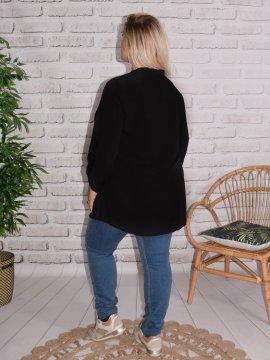 Alex, chemise fluide, Lagenlook noir 489