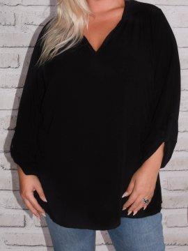 Alex, chemise fluide, Lagenlook noir 5684849