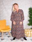 Senlis, Longue robe bohème grande taille profil