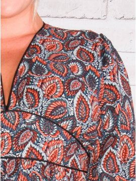 Senlis, Longue robe bohème grande taille 77