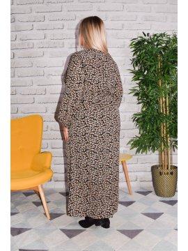 Longue robe Ménerbe, grande taille dos