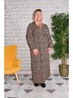 Longue robe Ménerbe, grande taille profil
