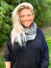 Snood maille gris