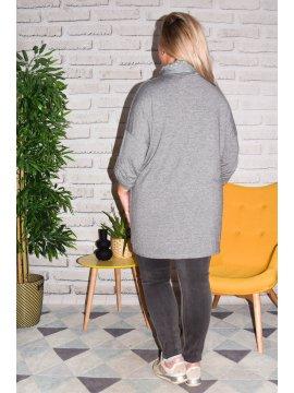 Paimpol, tunique grande taille gris derriere