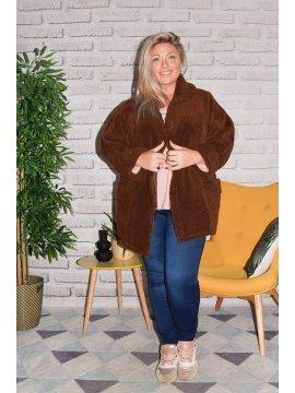 Manteau Nancy grande taille profil