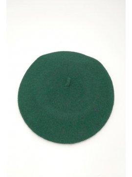 Beret classique vert