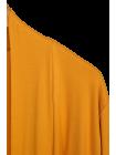 Pessac, gilet fin, grande taille jaune zoom col