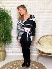 Betty visage pull tunique grande taille profil