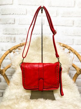 Nelly sac trotteur rouge