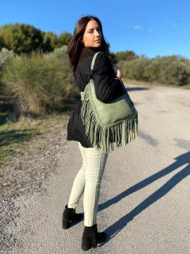 Myriam chemise grande taille coton noir extérieur dos
