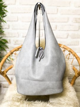 Syrin grand sac hobo gris