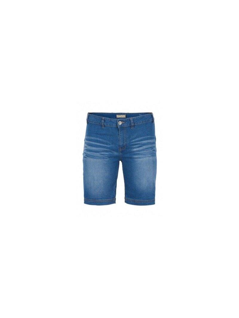 Jolyn, short jean, marque Zizzi avant