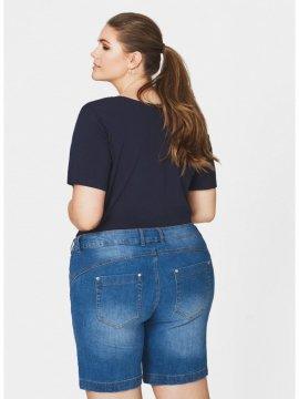 Jolyn, short jean, marque Zizzi coté