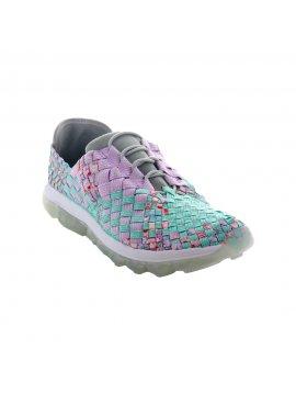 Sneakers Gummies Victoria cotton candy print marque Bernie Mev face