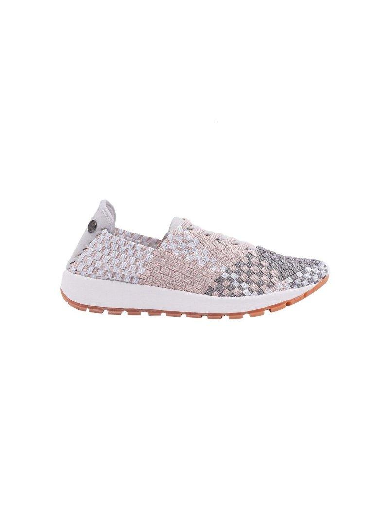 Sneakers Tara Vivaldi mimosa shimmer marque Bernie Mev profil