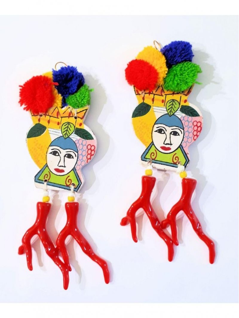 Boucles d'oreille , marque Antica Sartoria