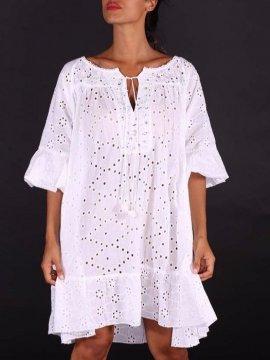 Riomaggiore, sublime robe bohème, marque Antica Sartoria,