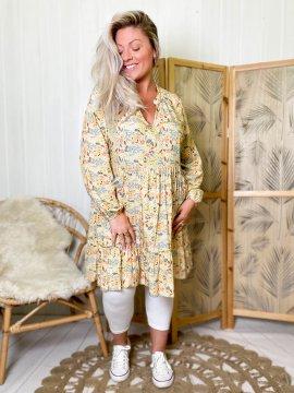 Bérénice robe grande taille imprimé fleuri  0036654