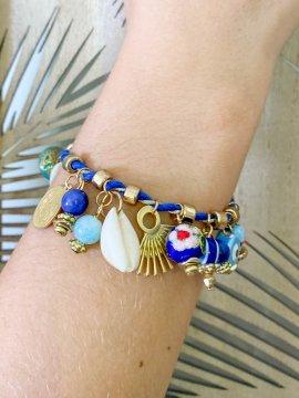 Bracelet charms bohème