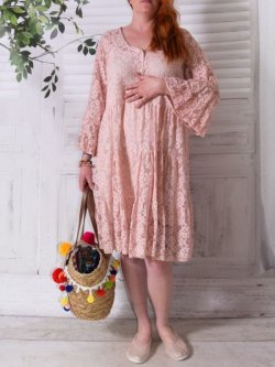 Adélie, robe dentelle bohème, Provencal Days