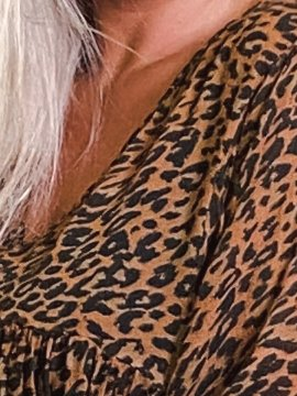 Robe Candy leopard, grande taille zoom