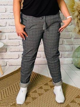 Romy, pantalon à carreaux, grande taille zoom