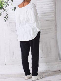 Berlin, pantalon sportswear,  Lagenlook - noir