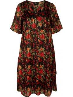 Olivia, robe fleurie, marque  Zizzi