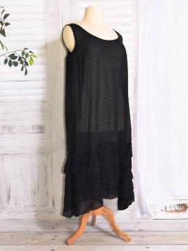 Esperanza fond de robe noir face