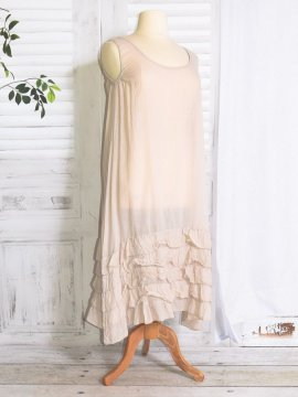 Esperanza fond de robe beige face