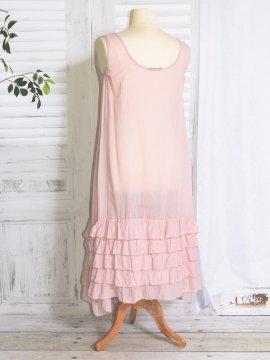 Esperanza fond de robe rose dos