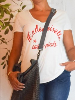 Tee-shirt Mademoiselle Casse Pieds, Leila marque Provencal Days