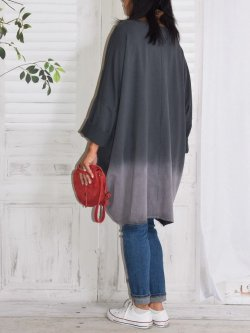 Manon, robe en sweat - anthracite