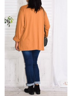 Nairobi, top original, Lagenlook - noisette