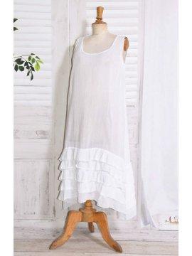 Esperanza fond de robe blanc face