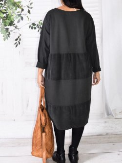 Vancouver robe originale,  marque Lagenlook - anthracite