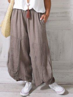 Pantalon en lin,  Moscou, marque Lagenlook