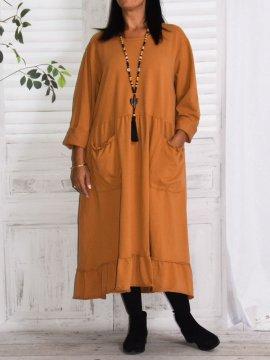 Alicia, robe lagenlook
