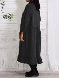 Alicia, robe lagenlook - anthracite