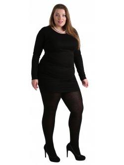 Collants fantaisie grande taille,  marque Pamela Mann pour Kalimbaka - noir