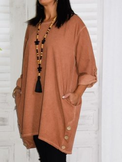Robe grande taille, modèle Sonia, Lagenlook  pour Kalimbaka
