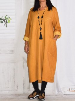 Sandra, robe originale, Lagenlook