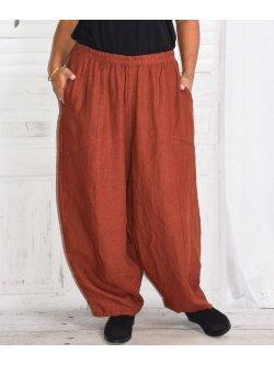 Pantalon en lin Hambourg, marque Lagenlook