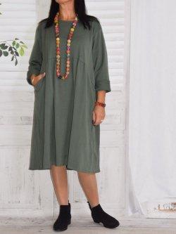robe originale et chaude grande taille