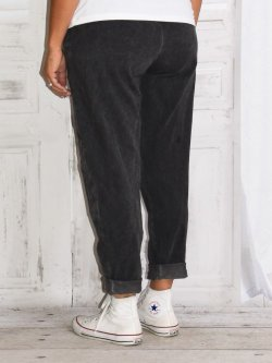 Berlin, pantalon sportswear,  Lagenlook - anthracite
