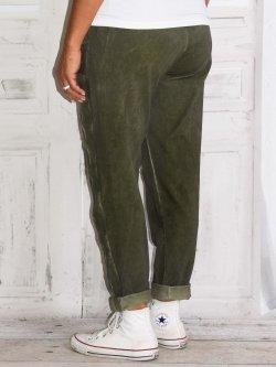 Berlin, pantalon sportswear,  Lagenlook - kaki
